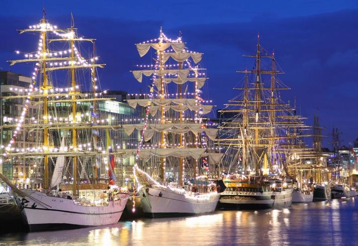 Talls Ship Parade Dublin