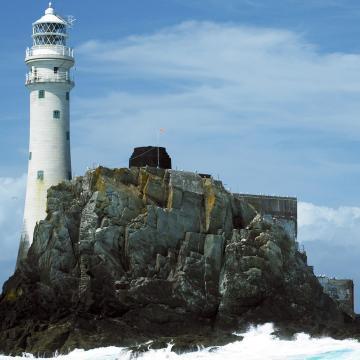 Fastnet Rock mit Leuchtturm