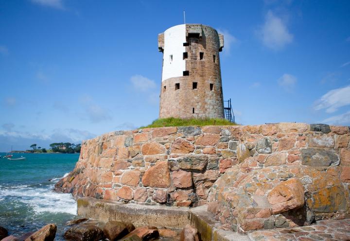 Martello Turm auf Jersey