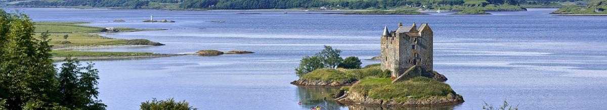 Loch Laich Castle Stalker