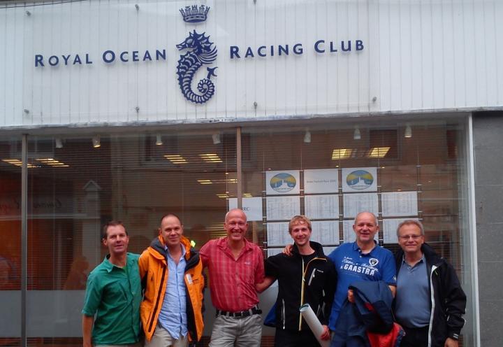 Crew Segelyacht Logoff Fastnet Race 2015