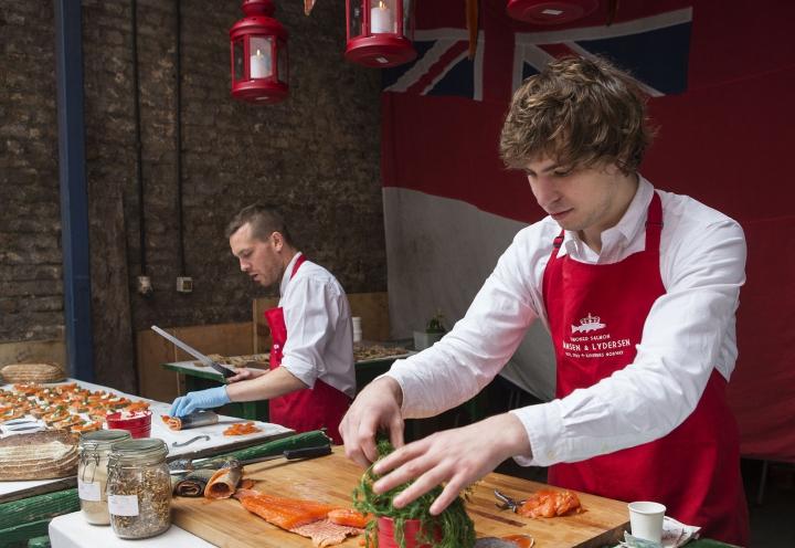 Kulinarische Eindrücke in London