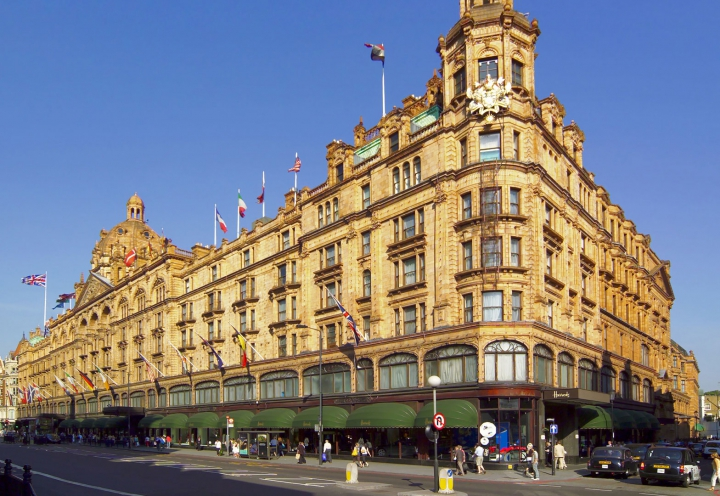 Kaufhaus Harrods in London