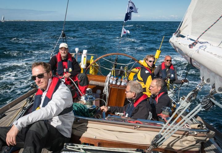 Crew der Segelyacht Logoff bei der Nordseewoche